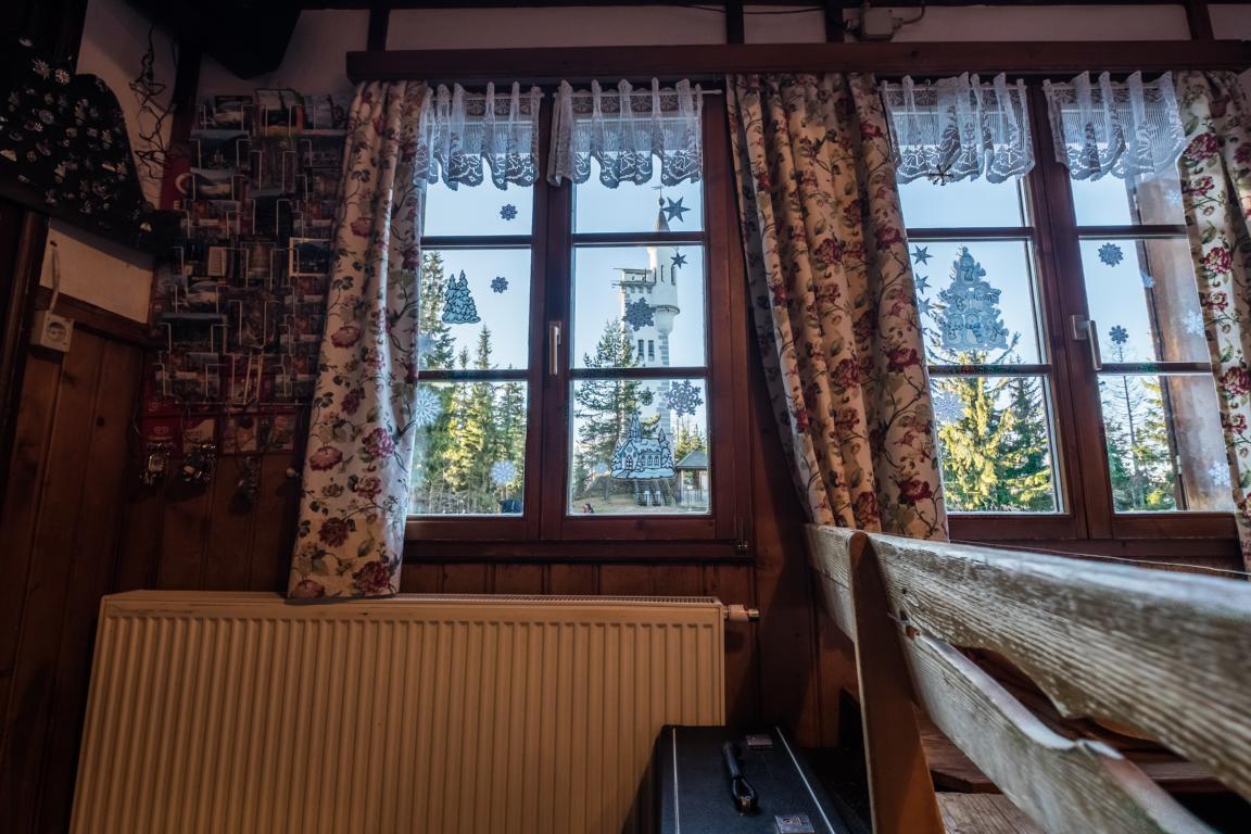 Hütte Innen